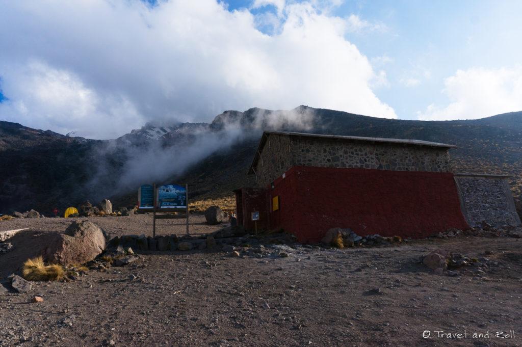 The refuge – Piedra Grande (4200m)