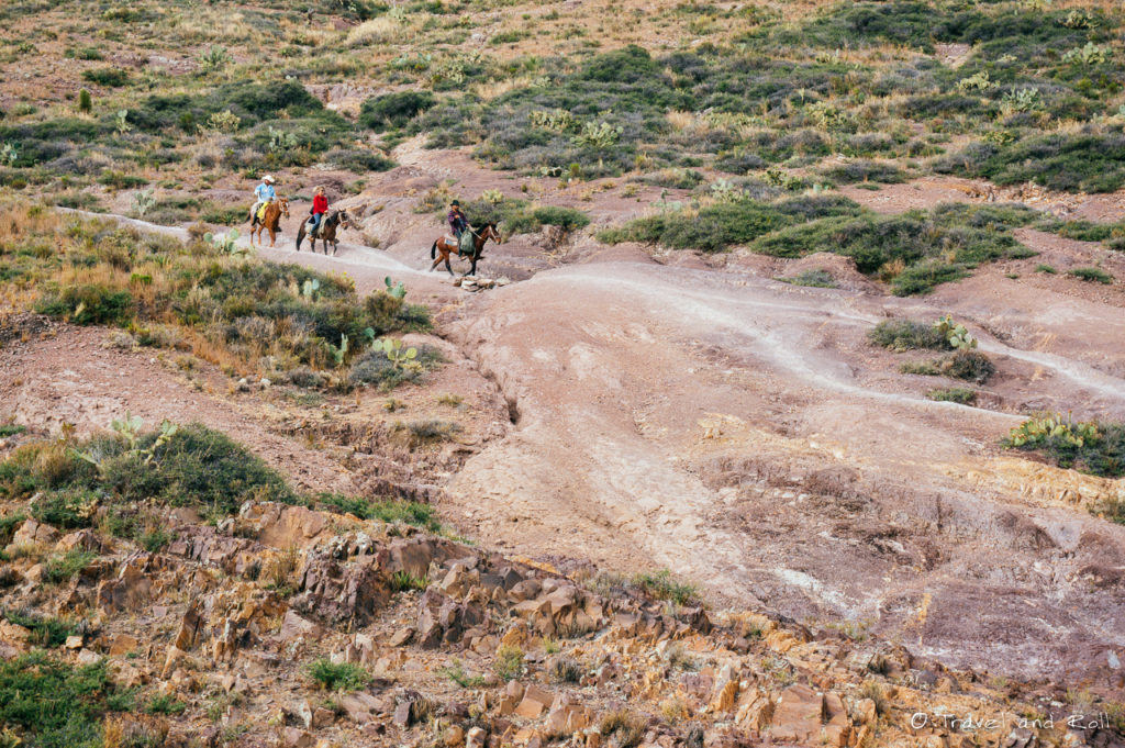Real de Catorce - Tourists on horses