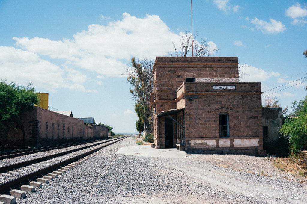 The train station of Wadley