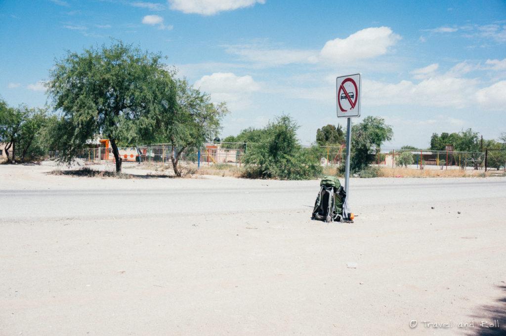 Hitchhiking back to Queretaro