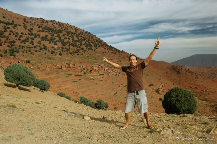 Living in a Berber village.
