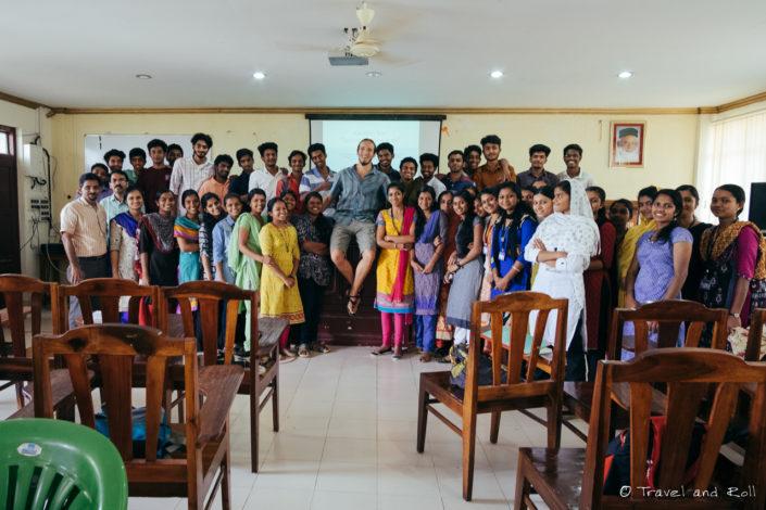 Visiting a school in Kodaikanal, India
