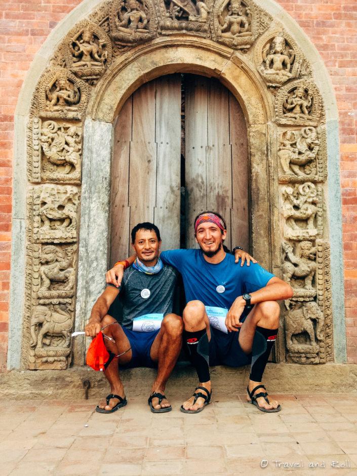 Found a Nepali Lunatic at a 10km charity race in Kathmandu