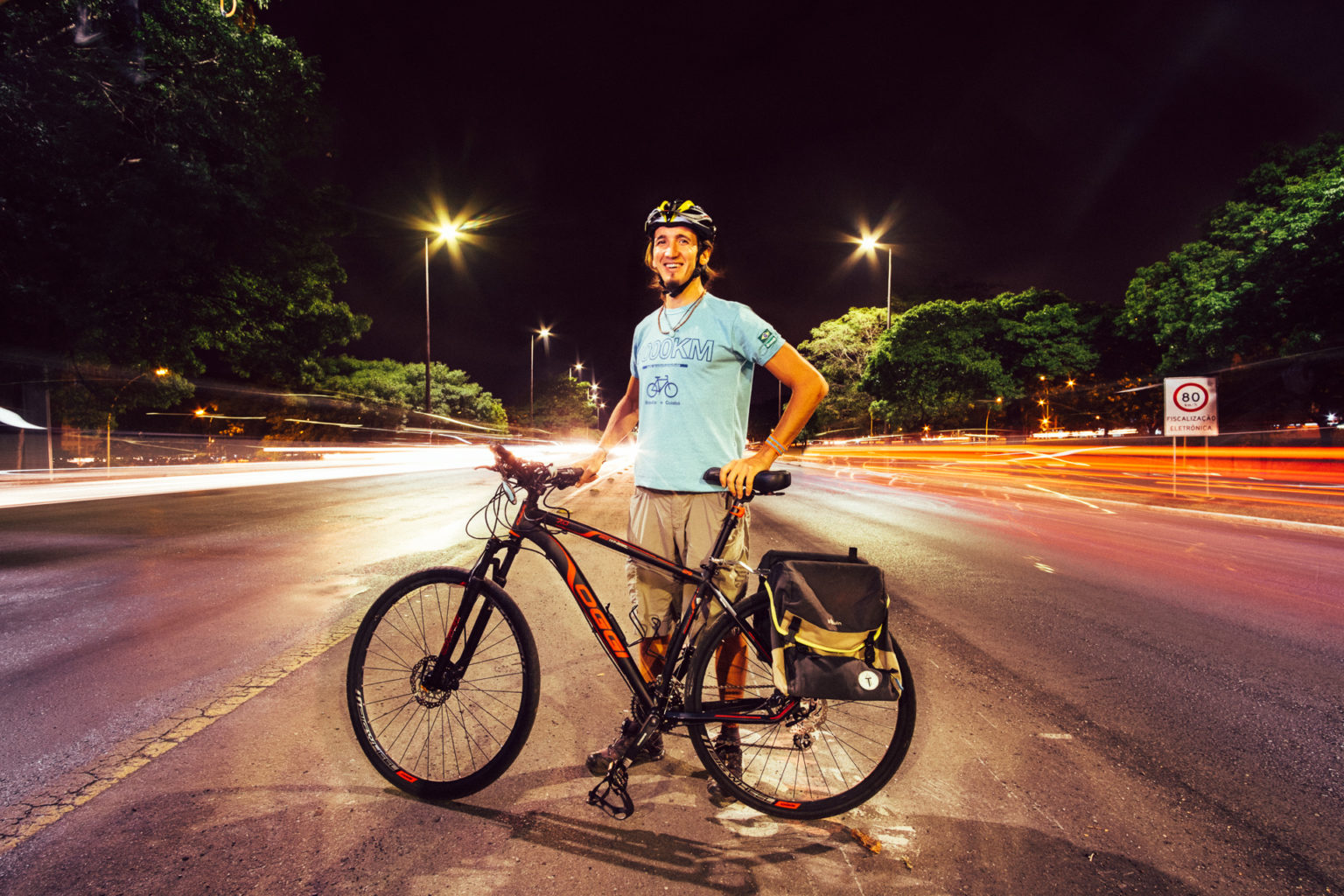 1000km for the environment - Bike, vegetarian, zero waste