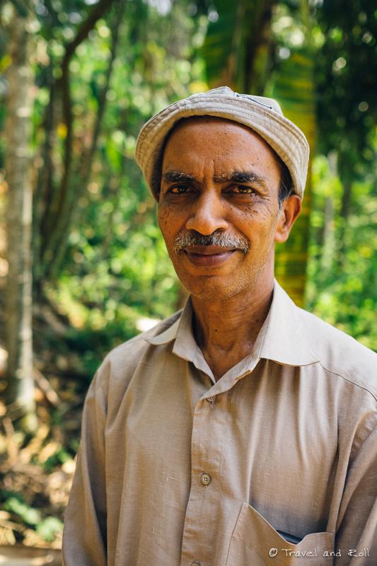Jayarajan, organic farmar