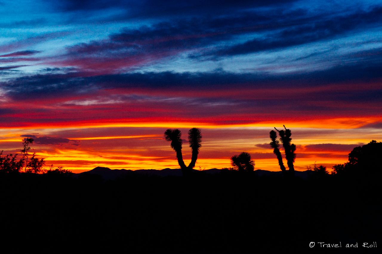 Real de Catorce - First sunset