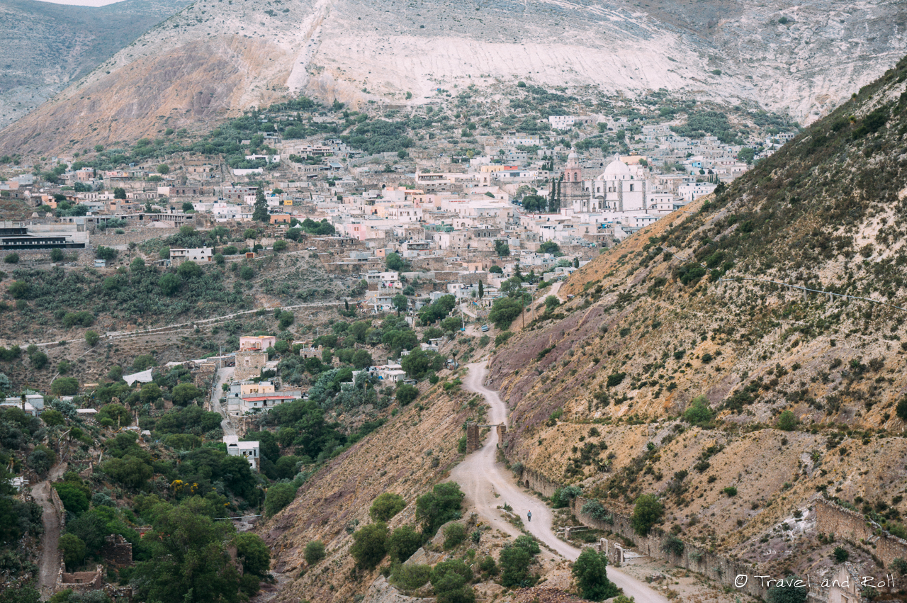 Real de Catorce, the village seen from far