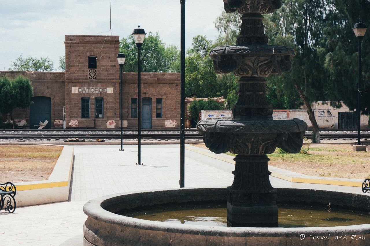 Real de Catorce,the train station of Catorce