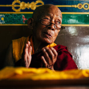 nepal, portrait, monk, buddhist, buddhism, old, man, mountain, spirituality