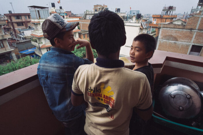 Street kids of Kathmandu